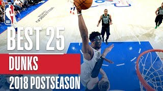 Best Dunks of the 2018 NBA Playoffs!