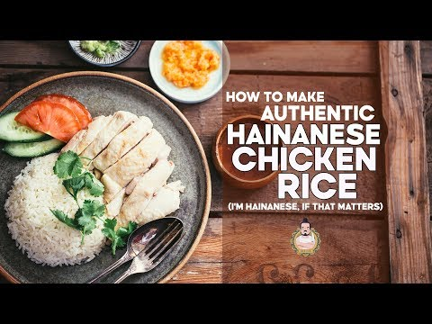How to Make Authentic Hainanese Chicken Rice | By a Hainanese Person | Recipe