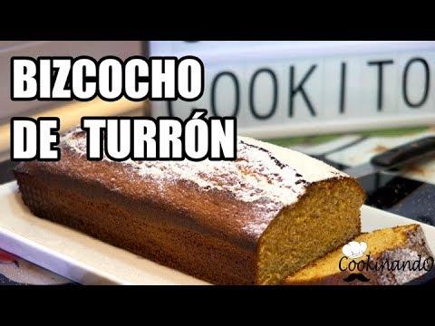 BIZCOCHO DE TURRON THERMOMIX