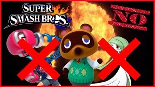 FINAL 10 Characters Who WILL NOT Be in Smash Bros Ultimate - ThePowerBauer2