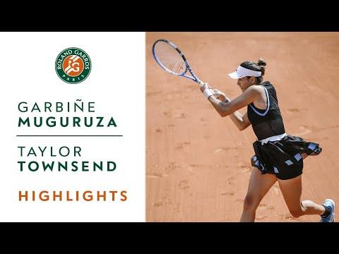 Garbiñe Muguruza vs Taylor Townsend - Round 1 Highlights | Roland-Garros 2019