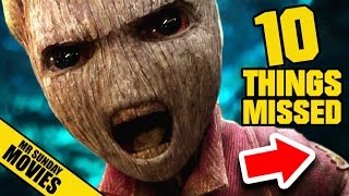 GUARDIANS OF THE GALAXY Vol. 2 Trailer - Easter Eggs & Things Missed