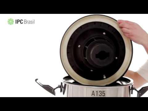 Aspirador De Pó e Líquidos 35L 1200W A135 IPC Soteco - 127V - Vídeo explicativo