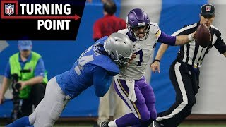 Keenum Provides a Case Study in Grit Against the Lions (Week 12) | NFL Turning Point
