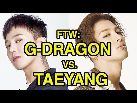 For The Win: G-Dragon vs. Taeyang