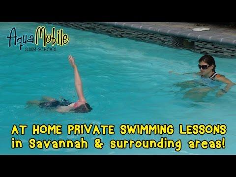 Savannah, Georgia at Home Swim Lessons