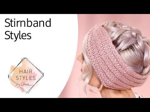 OlesjasWelt: Perfekte Frisur fürs Stirnband