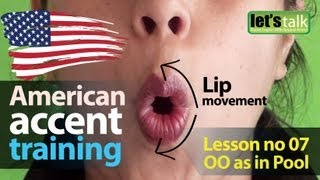 American Accent Training Part 07 : 'OO