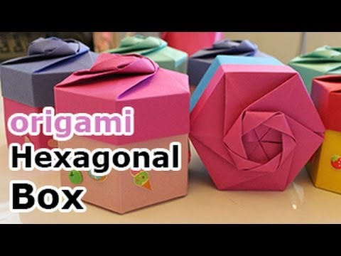 Origami Hexagonal Gift Box (Non Modular) - YouTube - photo#12