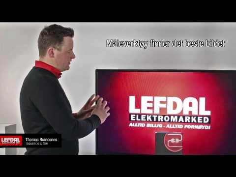 """Dette er tjenesten """"Klargjøring av TV"""" fra Lefdal"""