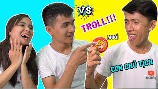 Troll CON CHỦ TỊCH ăn kẹo HUBBA BUBBA trộn Muối... Và cái kết!!!