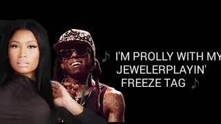 Nicki Minaj - Good Form. ft. Lil Wayne (Lyrics)