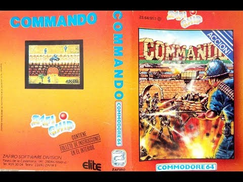 BITeLog 0098: Commando (COMMODORE 64) LONGPLAY