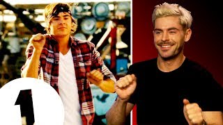 """I couldn't dance!"" Zac Efron on High School Musical and hanging out with De Niro and The Rock"