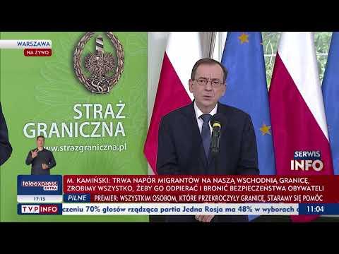 Kamiński: Struktury państwa białoruskiego są zaangażowane w proceder międzynarodowego handlu ludźmi