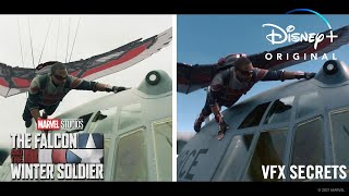 VFX Secrets Behind Marvel Studios' The Falcon and The Winter Soldier
