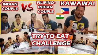 BUHAY SA INDIA: TRY TO EAT CHALLENGE WITH MY BRO-IN-LAW & SIS-IN-LAW II LAPTRIP SOBRA! Vlog # 306