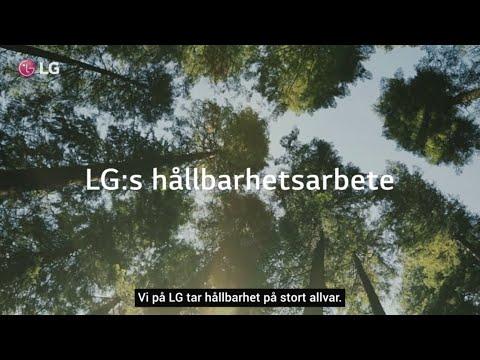 LG, med hållbarhet i fokus
