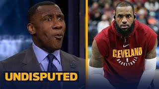 Shannon Sharpe reacts to LeBron revealing his training regimen with a former Navy SEAL | UNDISPUTED