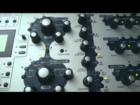 Alesis Andromeda A6 demo 2013