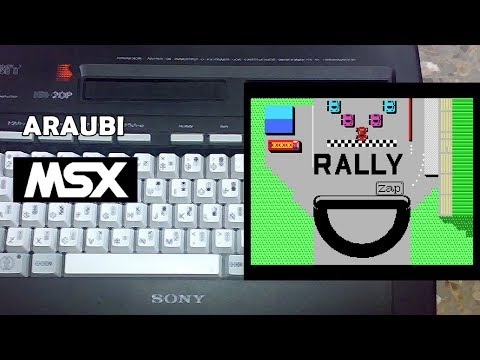 Rally (Zap, 1985) MSX [498] Walkthrough Comentado