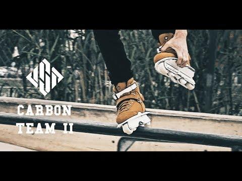 Video USD Boots CARBON TEAM II Marron