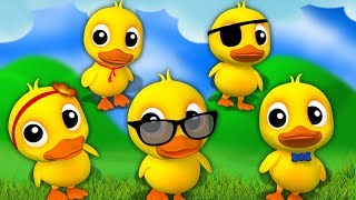 cinq petits canards | Five Little Ducks | Kids Baby Club Française | Kids Songs And Nursery Rhyme