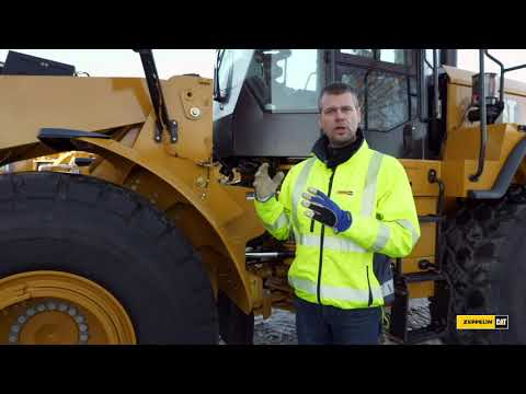 Genomgång av hjullastaren Cat 950 GC - ME Edition