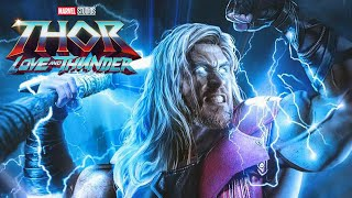 Thor 4 Love and Thunder First Look - Thor's New Hammer Explained Marvel Phase 4