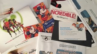 Disney Documents You Receive After Booking Your Trip!