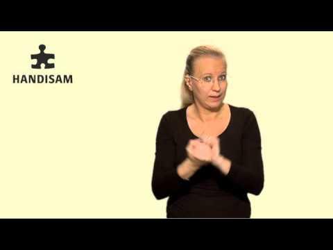 Om funktionshinderspolitik på teckenspråk