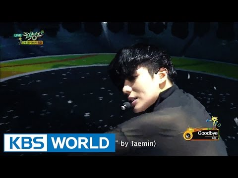 TAEMIN (태민) - Goodbye [Music Bank COMEBACK / 2016.08.05]