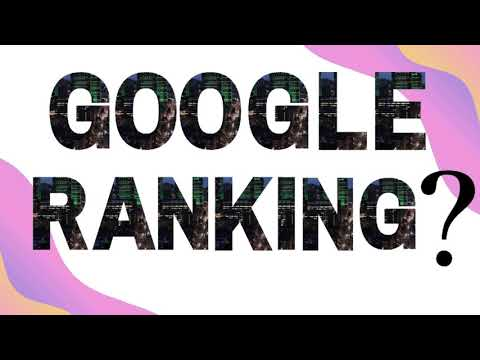 How to get google ranking for your website
