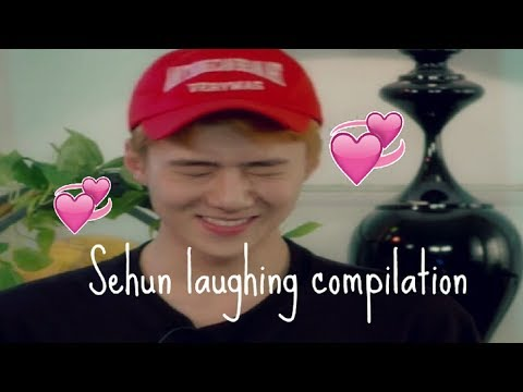 Sehun Laughing Compilation♡˚₊‧✩ੈ ˳✧