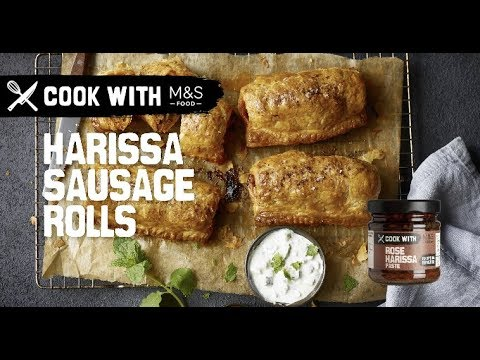 marksandspencer.com & Marks and Spencer Promo Code video: M&S | Cook with M&S... Harissa Sausage Rolls