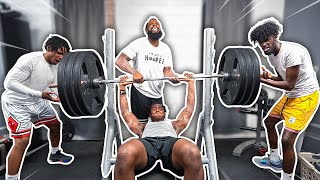 Bench Press Strength Challenge w/ Deestroying & B Lou!