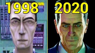 Evolution of Half-Life Games 1998-2020