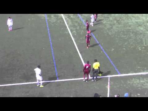 Deuxième mi-temps de la finale Challenge Afrique U18