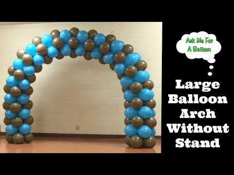 Large Balloon Arch Without Stand - Balloons Online