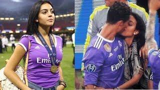 Moment Ronaldo sama sang kekasih Georgina Rodriguez di Final Champions