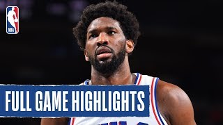 PISTONS at 76ERS | FULL GAME HIGHLIGHTS | October 15, 2019