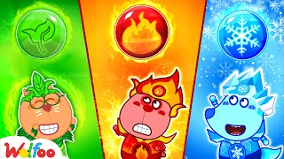 Wolfoo Kids Stories About Fire, Water, Air, and Earth   Wolfoo Family Kids Cartoon