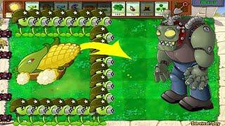 Gatling Pea, SnowPea vs Dr. Zomboss - Plants vs Zombies Battlez