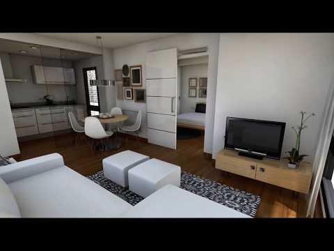 Casas ahorro de espacio en casas peque as musica movil for Casa moderna de 7 00m x 15 00m
