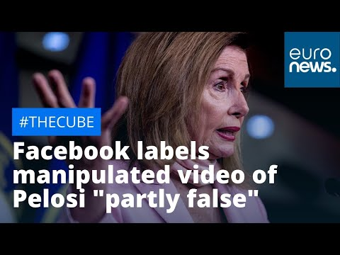 """#TheCube: Facebook labels manipulated video of Nancy Pelosi """"partly false"""""""