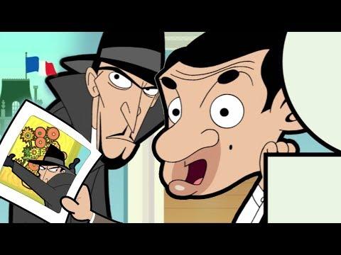 Art Thief   Funny Episodes   Mr Bean Cartoon World