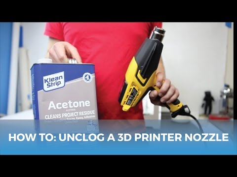 How To: Unclog a 3D Printer Nozzle // 3D Printing Tips and Tricks