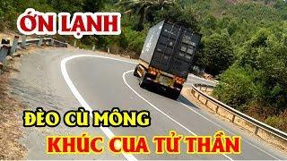 """""""Ớn Lạnh"""" Đèo Cù Mông Nguy Hiểm Nhất Việt Nam - Cu Mong Pass in Vietnam"""