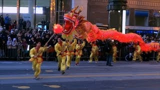 Chinese New Year Parade 2013 San Francisco (compilation)