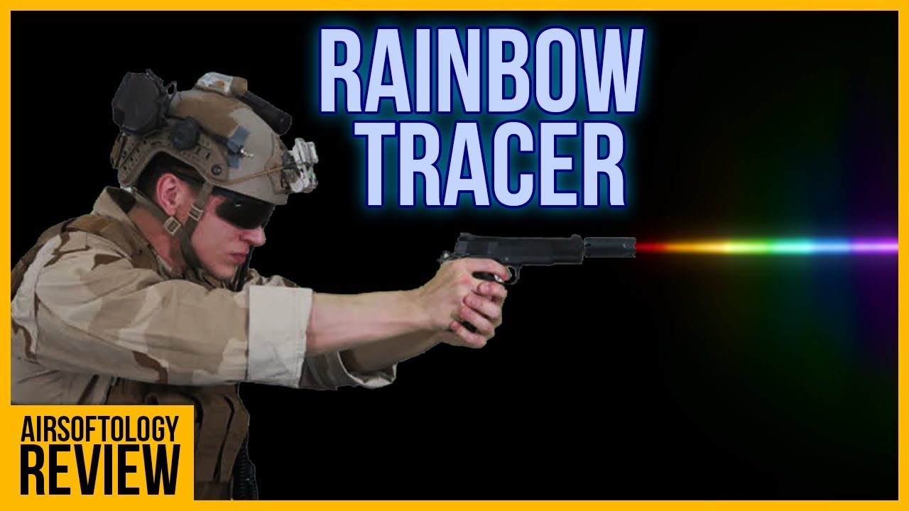 This literally shoots rainbows! | The Acetech Bifrost Airsoft Tracer